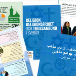 Sveriges kyrkliga landskap enligt Statens nämnd för stöd trossamfunden (SST)